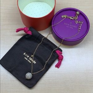 Authentic Kate Spade necklace with gift box